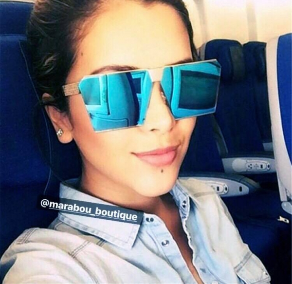 Ochelari de Soare Unisex Albastri 6
