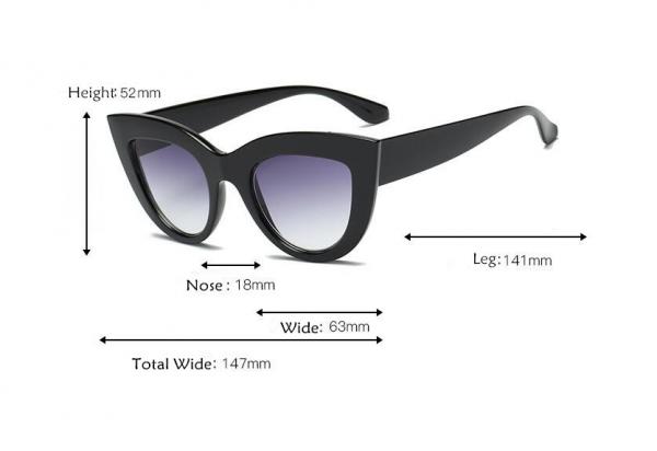 Ochelari de Soare Negri Mati 3