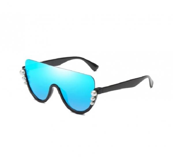 Ochelari de Soare Albastri cu Perle 0