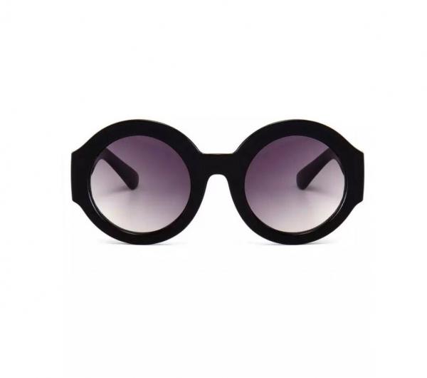 Ochelari de Soare Rotunzi Negri 0
