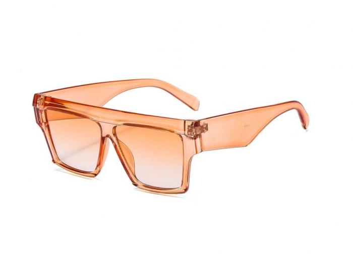 Ochelariide Soare Portocalii Oversized 0